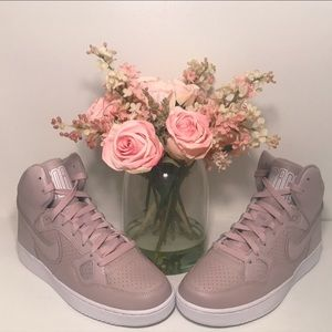 NEW Nike Son of Force Mid Rose Sneakers 8.5